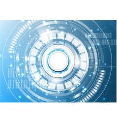 Technological digital abstract modern light spot vector
