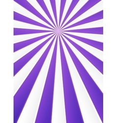 Violet and white rays abstract circus poster vector image