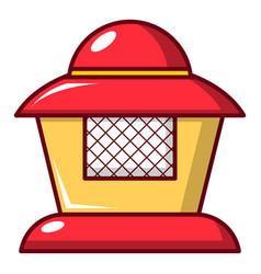 Beekeeper icon cartoon style vector