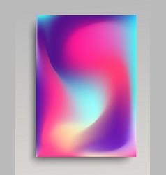 Folded gradient backdrop vector