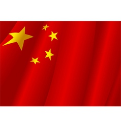 People Republic of China flag vector image