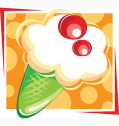 Ice creme vector image vector image