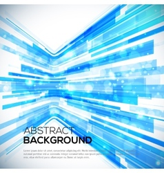 3D Perspective Abstract bright colorful background vector