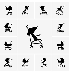 Baby Carriages vector