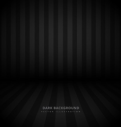 Black background with stripes vector