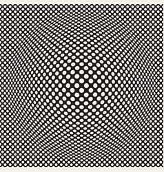 halftone bloat effect optical abstract vector image