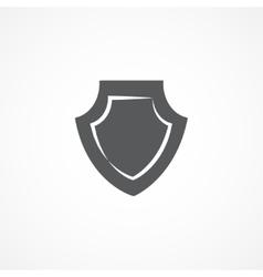 Shield icon vector