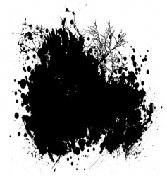 nature grunge vector image
