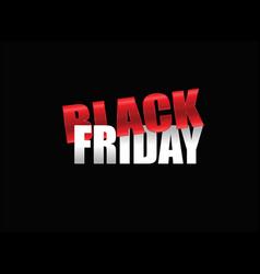 black friday tag sale vector image