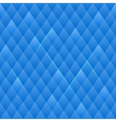 Squared Blue Seamless Pattern vector image vector image
