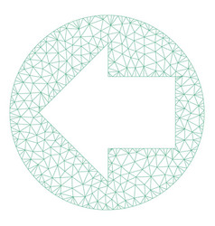 Back direction mesh network model vector