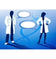 Doctors Cartoon vector