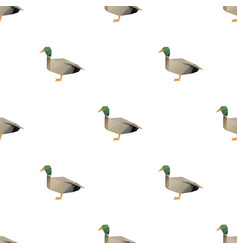 Duck triangle pattern backgrounds vector