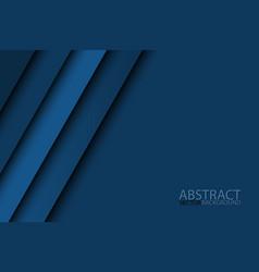 modern blue background overlap paper vector image