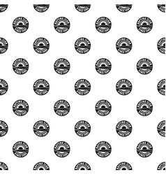 Rafting club pattern seamless vector