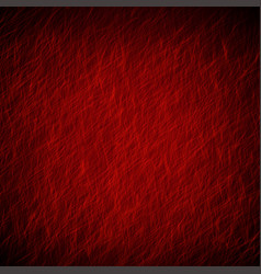 Red abstract grunge background texture with light vector