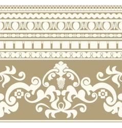 Greek ornament seamless pattern vector image