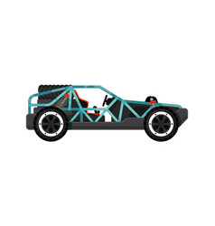 off road dune buggy isolated icon vector image vector image