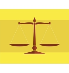 scale equality vector image