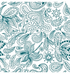 Ornamental Indian Pattern vector image