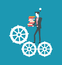 Business achievements and skills vector