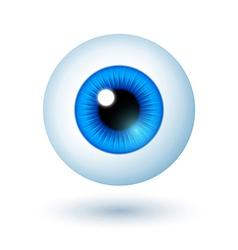 Cartoon Blue Eye vector image