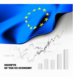 Eu economics with european union vector