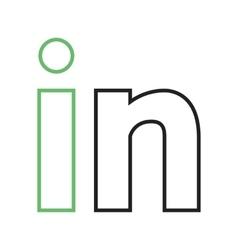 LinkedIn vector image