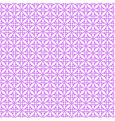 tile violet and white pattern vector image