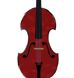 fiddle vector image vector image