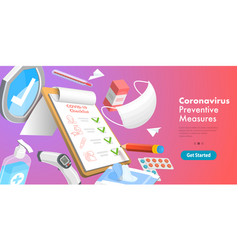 3d conceptual coronavirus vector image