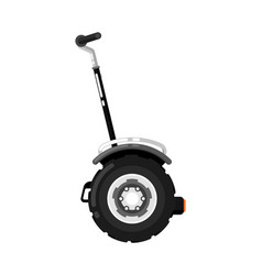 city gyroscooter isolated icon in flat design vector image
