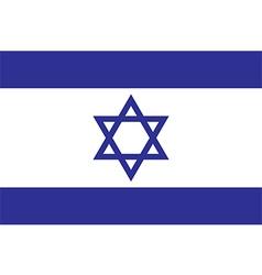 Flag israel vector