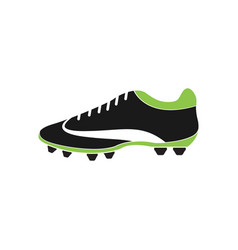 football shoe graphic design template isolated vector image