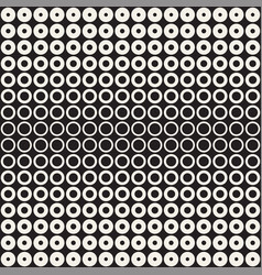 halftone circles seamless pattern abstract vector image