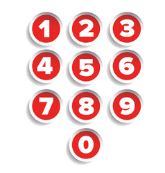Number set label vector