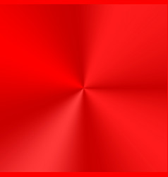 red conical gradient vector image