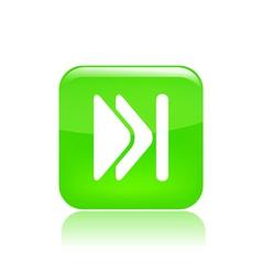 Skip icon vector