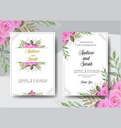 wedding rsvp3 vector image