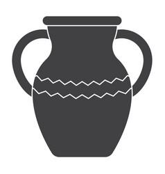 vase icon vector image vector image