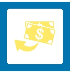 Cashback icon vector