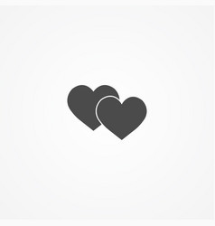 love icon sign symbol vector image