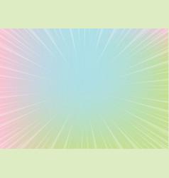 Neon pop art comics gradient radial background vector