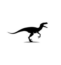 raptor logo vector image