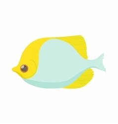 Fish butterfly icon cartoon style vector image vector image