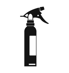 Sprayer black simple icon vector image