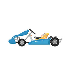 Go kart isolated icon in flat design vector