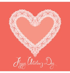 hearts lace 3 380 vector image vector image
