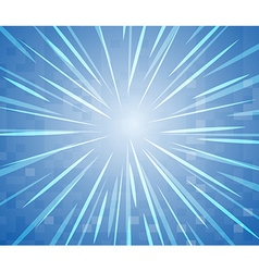 Background design with bright star vector