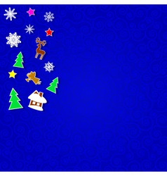 Decorations for Christmas vector image